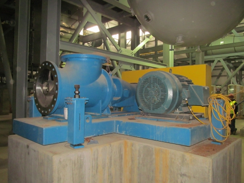 Axial Flow Goulds Pump Curves : Goulds axial flow pump new paper mill surplus