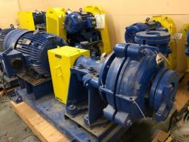Warman Weir 6/4 Slurry Pump (New) | Paper Mill Surplus | Your Pulp